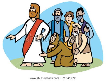 Jesus Healing Stock Images, Royalty.