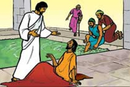 Showing post & media for Jesus curing the sick cartoon.