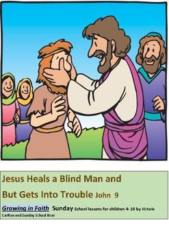 Jesus Heals Blind Worksheets & Teaching Resources.