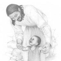 Jesus Holding Child Pictures, Images & Photos.