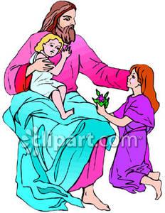 Jesus Child Clipart.