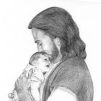 Jesus Holding Baby Pictures, Images & Photos.