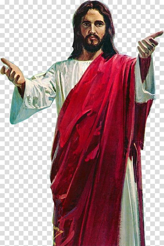 Jesus Christ illustration, Depiction of Jesus Icon, Jesus.