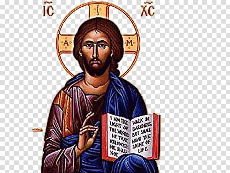 Jesus Teacher Christianity Eastern Orthodox Church Icon.