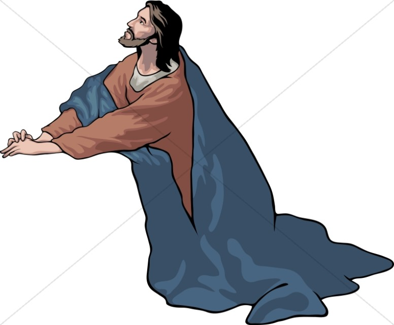 Jesus in the garden clipart 5 » Clipart Station.