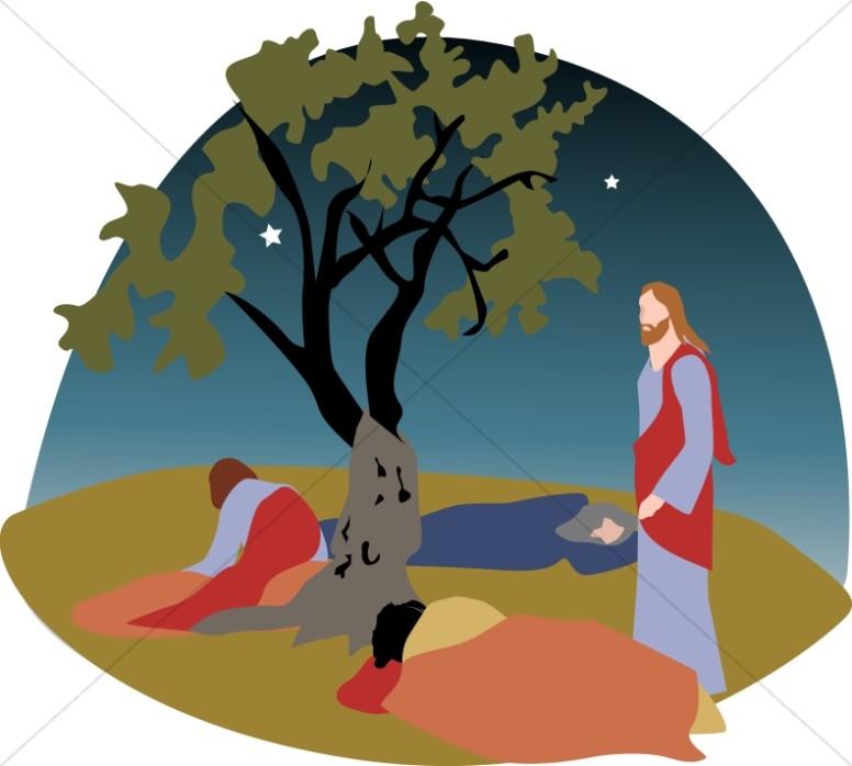 Garden Of Gethsemane Clipart.