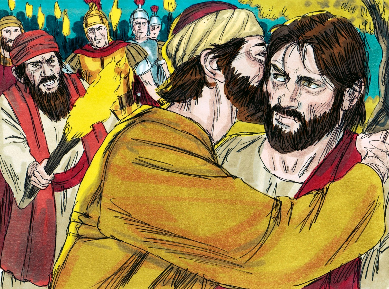 Jesus in the garden clipart 1 » Clipart Station.