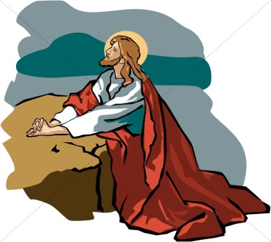 Jesus in the garden clipart 2 » Clipart Station.
