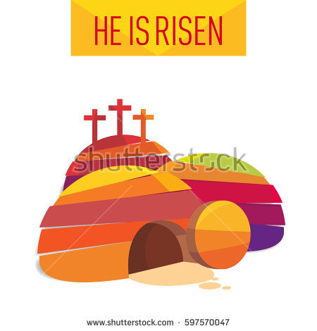 Jesus Risen Stock Images, Royalty.