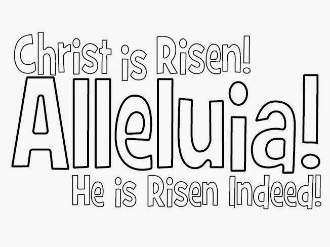 jesus is risen clipart free