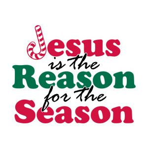 JESUS IS THE REASON FOR THE SEASON CLIPART.