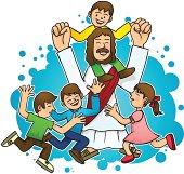Jesus kids clipart 6 » Clipart Station.