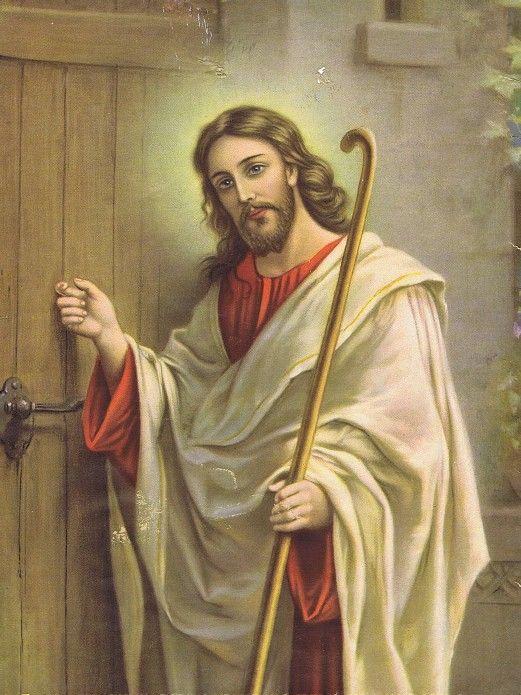 Clip Art Of Jesus Knocking At The Door.