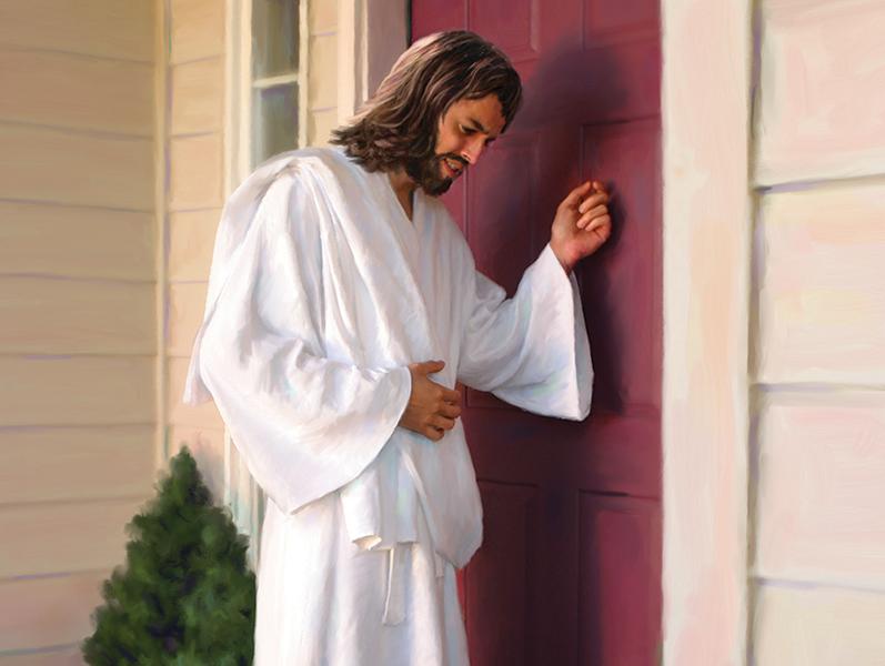 Jesus Knocking Png & Free Jesus Knocking.png Transparent.