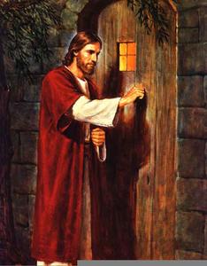 Jesus Knocking At The Door Clipart.