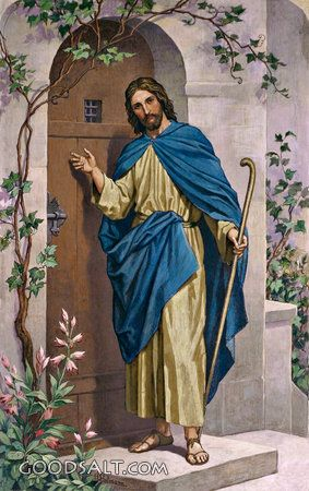 Jesus Knocking Clipart Clipground