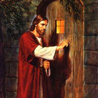 Jesus Knocking On Door Pictures, Images & Photos.