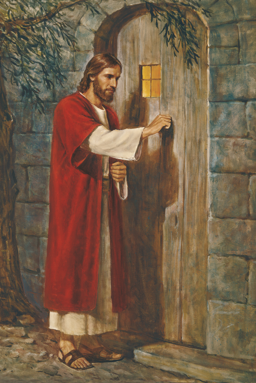 Jesus at the Door (Jesus Knocking at the Door).