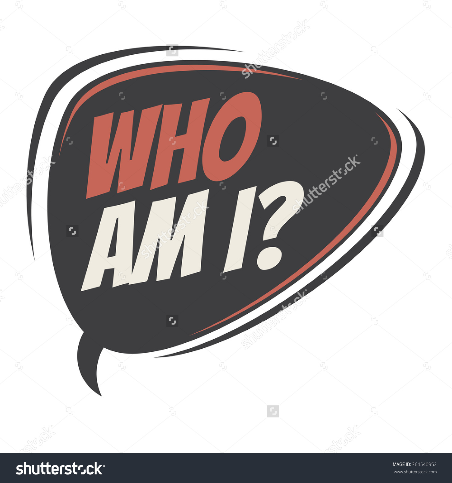 Who Am I Clipart.