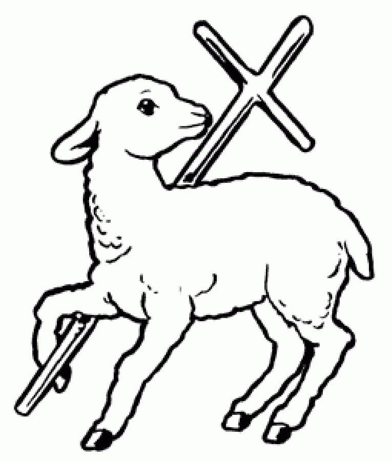 2095 Lamb free clipart.