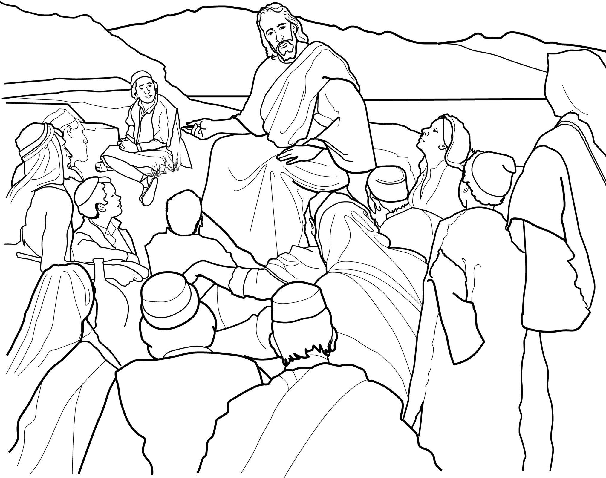 The Sermon on the Mount\