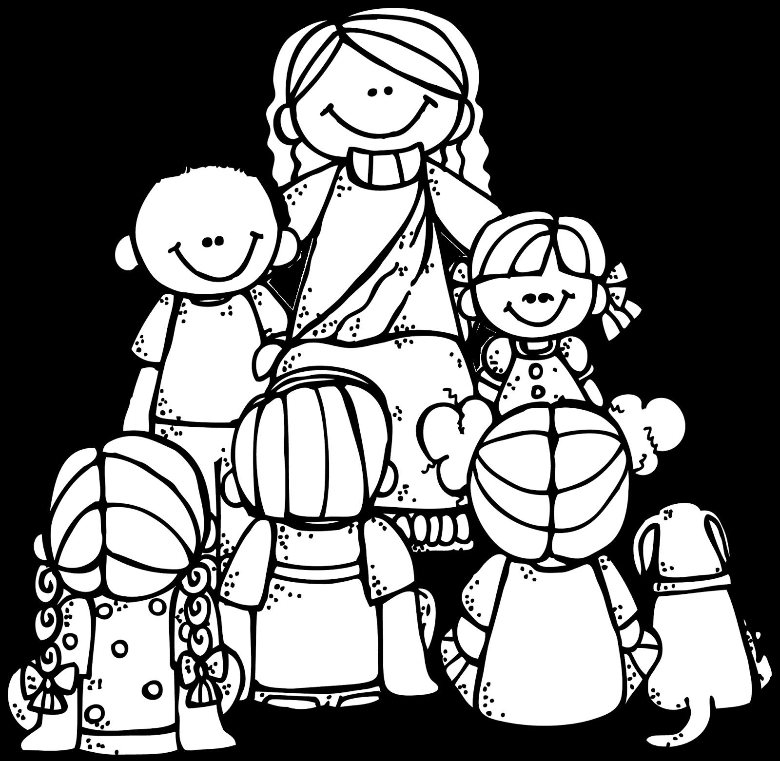 jesus loves children black and