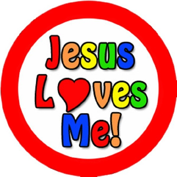 Jesus Loves Me Clipart.
