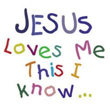 Jesus Loves Me Clipart.
