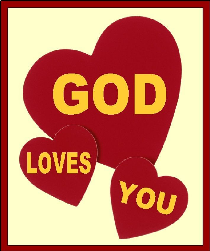 God Loves You Clip Art.