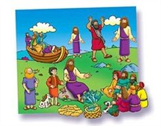 Miracles of Jesus Felt Set.