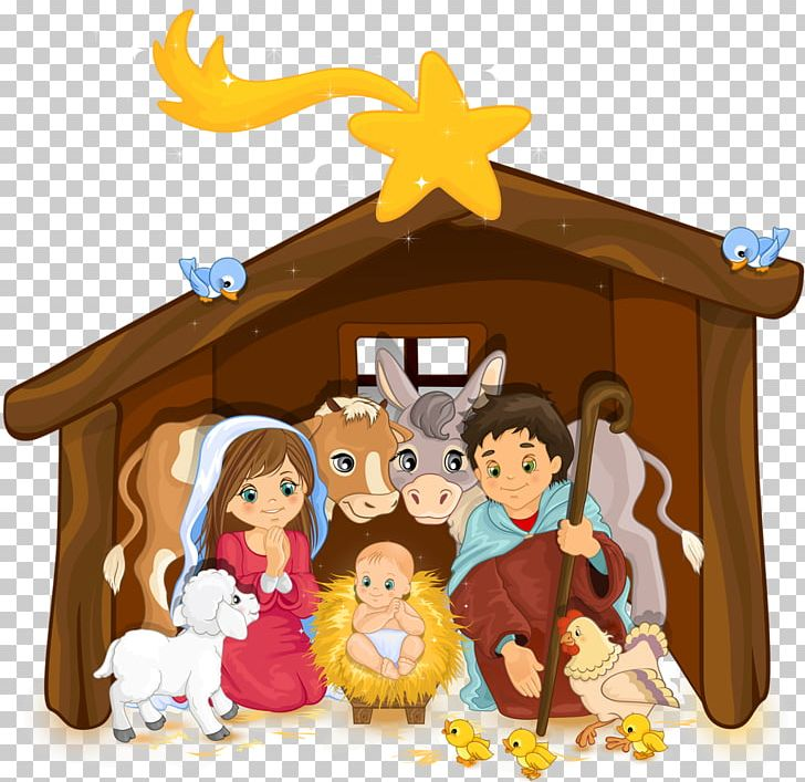 Holy Family Nativity Scene Christmas Nativity Of Jesus PNG.