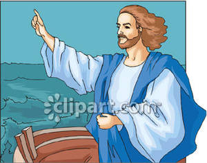 of Nazareth on a Boat.