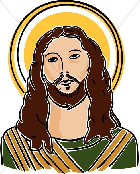 Jesus of nazareth clipart #9
