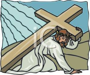 of Nazareth Carrying the Cross.
