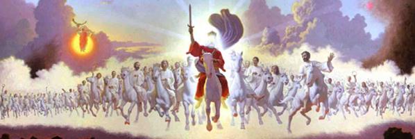 Similiar Jesus On His White Horse In Revelations Keywords.