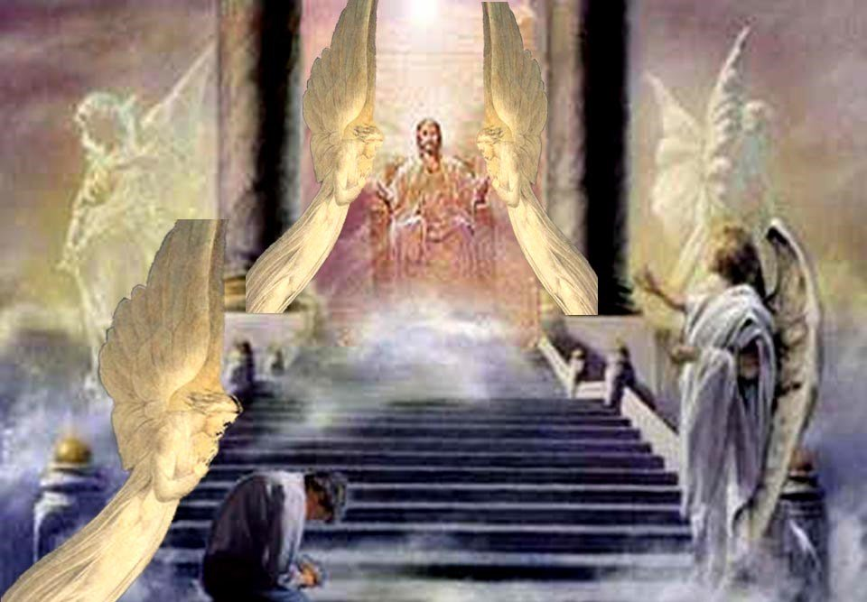 Jesus On His Throne Clipart Clipground