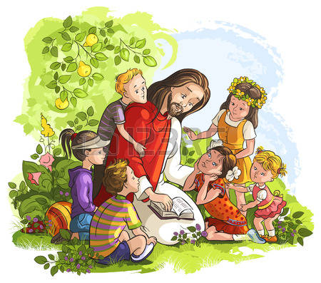 2,142 Jesus Children Cliparts, Stock Vector And Royalty Free Jesus.