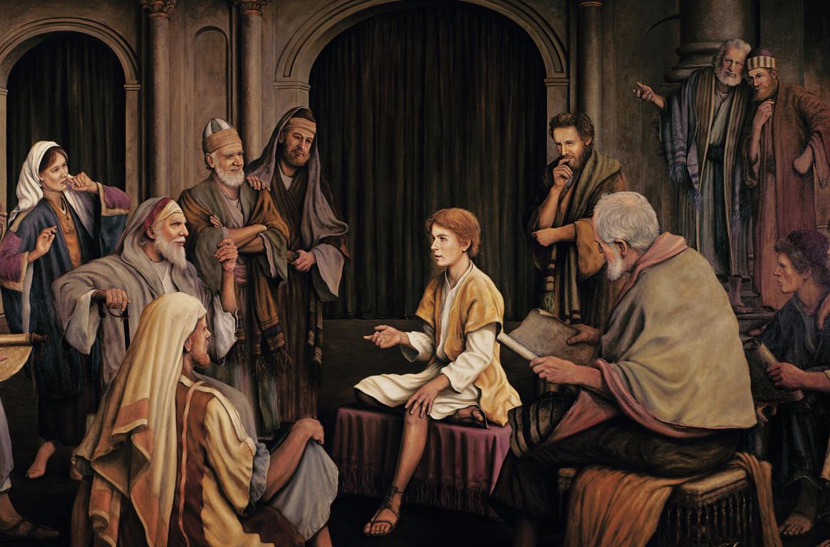 Jesus Teaching the Elders in the Temple.