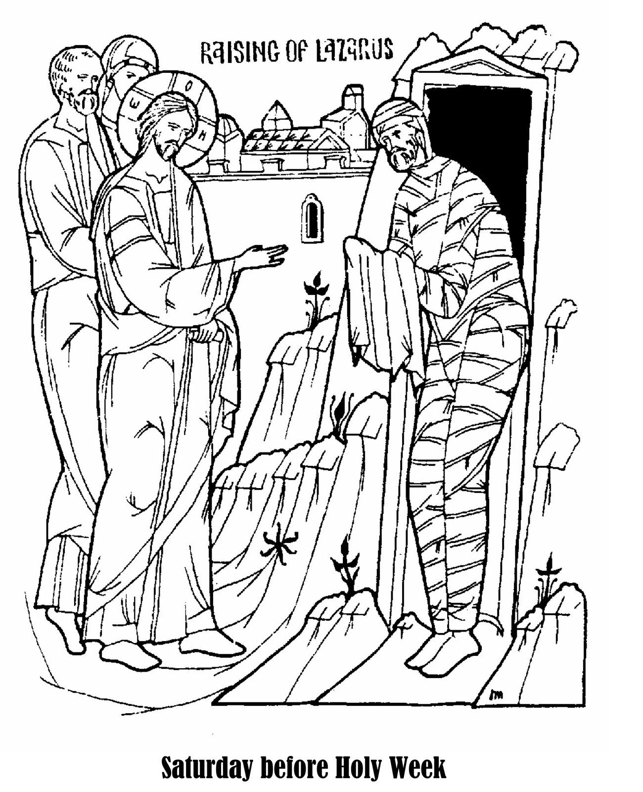 Jesus Raises Lazarus Clipart Clipground