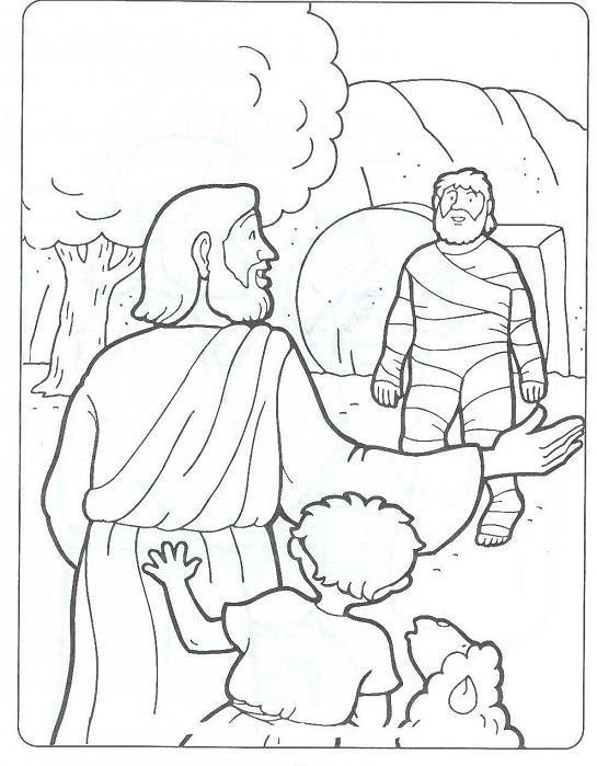 Jesus raises Lazarus1.