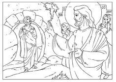 Showing post & media for Jesus raising lazarus cartoon.