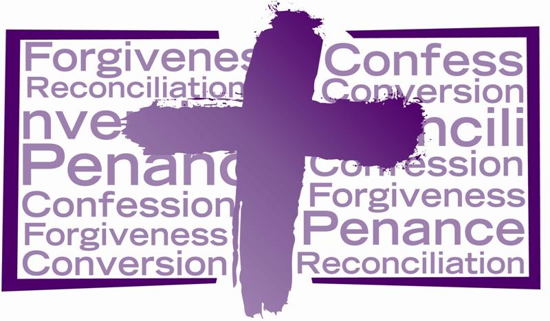 Reconciliation clipart catholic.