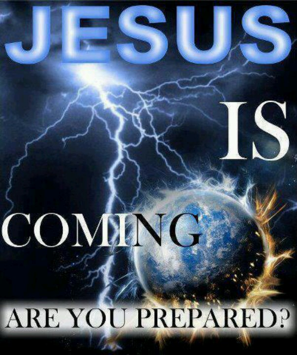 Jesus Return Ready Or Not Clipart.