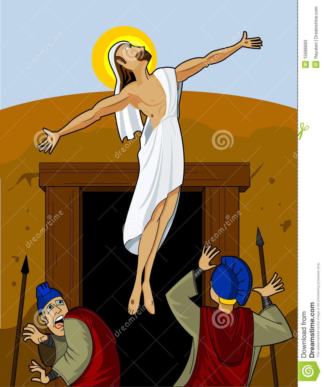 Jesus Rising Stock Photos.