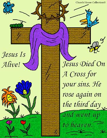 Easter Sunday School Lesson.