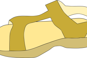 Jesus sandals clipart 2 » Clipart Station.