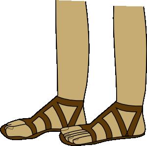 Feet In Sandals Clip Art at Clker.com.