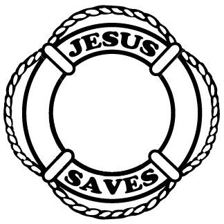 Image result for jesus saves life saver ring clipart.