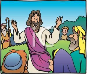 Showing post & media for Jesus teaching cartoon.