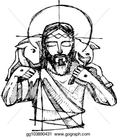 Jesus the good shepherd clipart 8 » Clipart Station.